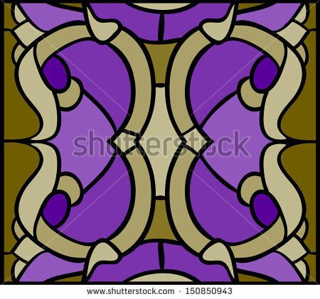stock-vector-floral-ornament-on-the-ceiling-window-and-door-stained-glass-window-150850943