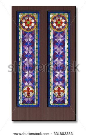 stock-photo-doors-with-stained-glass-in-the-tiffany-technique-331602383