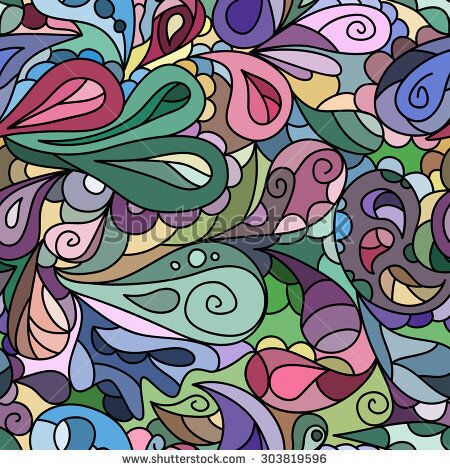 stock-vector-bright-multicolored-ornate-paisley-pattern-seamless-303819596