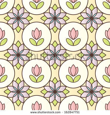 stock-photo-beautiful-stained-glass-background-with-floral-motive-raster-version-162847751