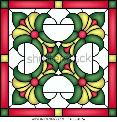 stock-vector-french-lilies-tile-design-symmetric-composition-seamless-background-vector-illustration